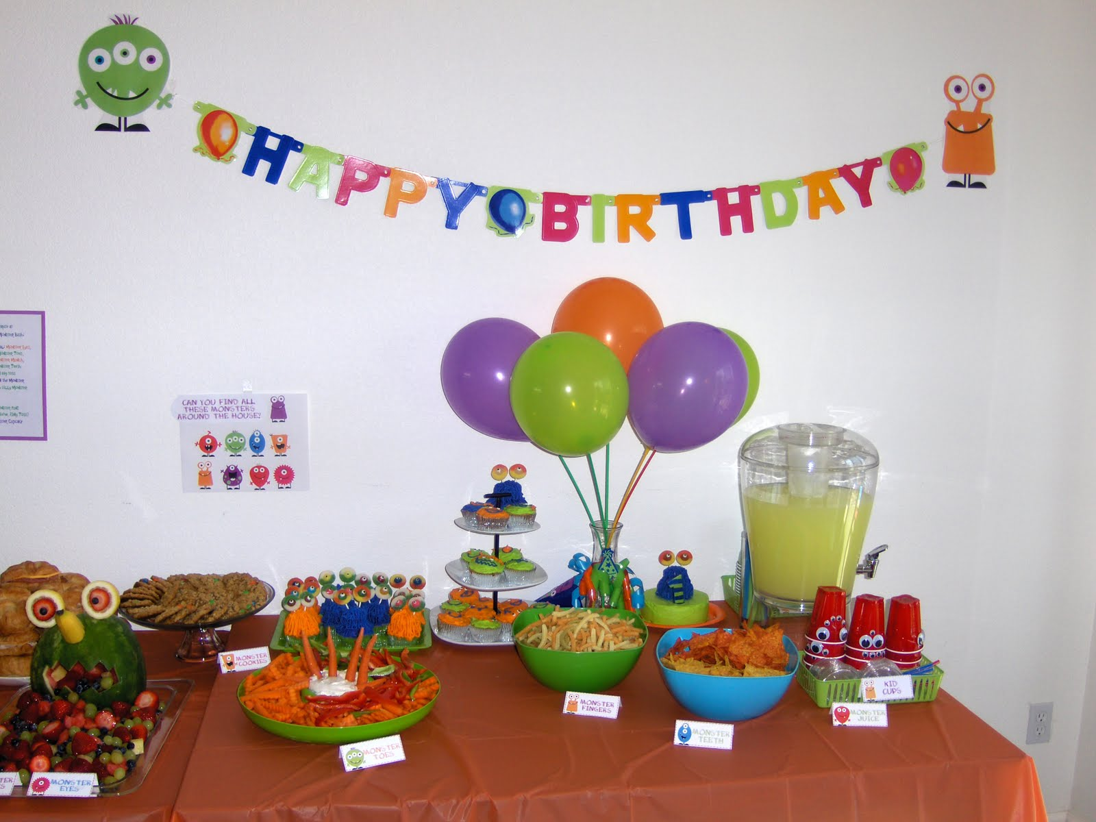 Paparazzi Love: Jay\'s 1st birthday Monster Bash