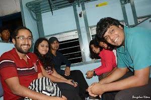 Bangalore to Makalidurga train journey