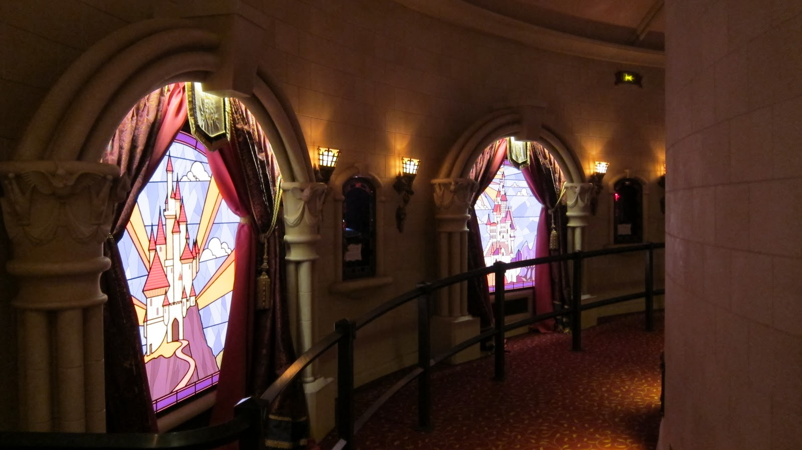 disneyland paris cast member  princess pavilion