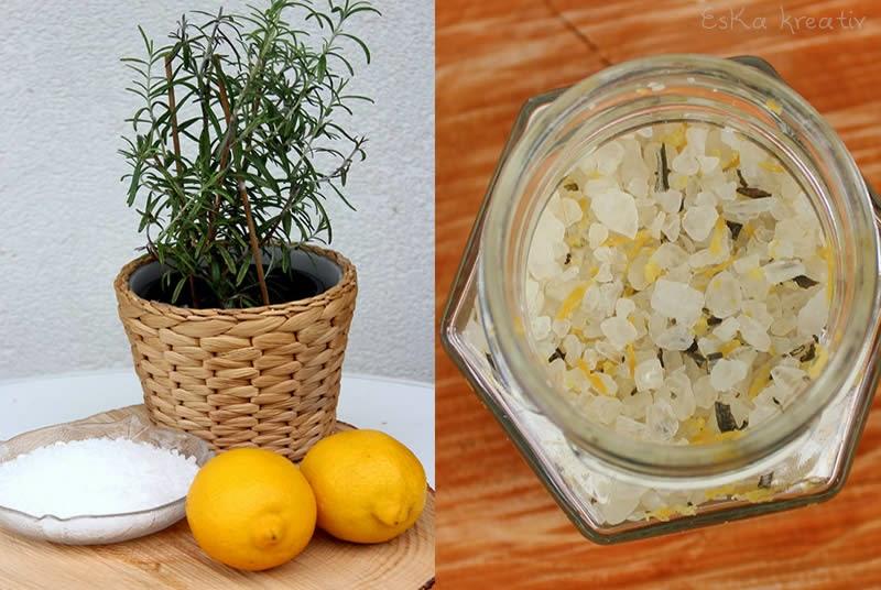 Leckeres Salz selbstgemacht zur Einweihung