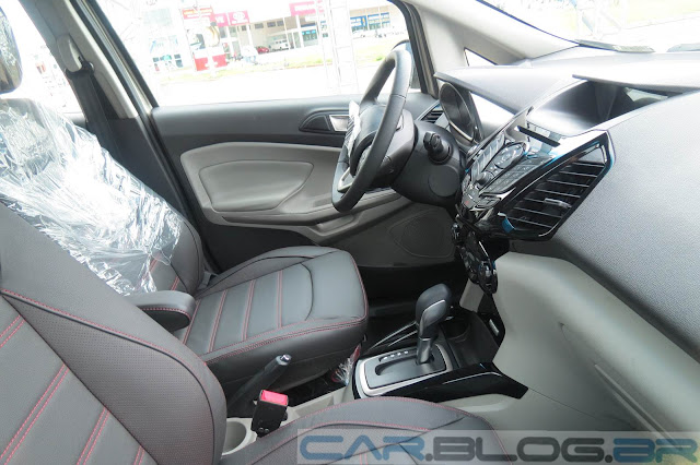 Nova Ford EcoSport Titanium Automatica 2014 - painel