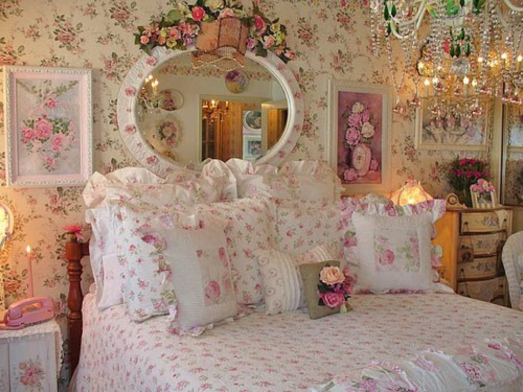 DECORACION Shabby chic ~ Como Decorar Quarto Estilo Romantico