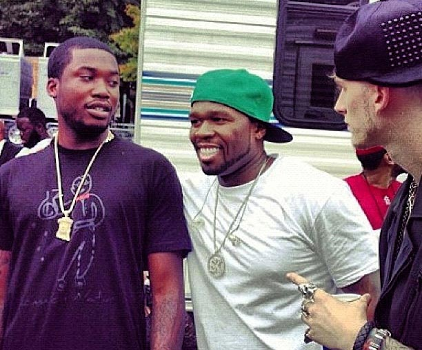 50 Cent Disses Meek Mill Over Drake Beef On Instagram (Photo)