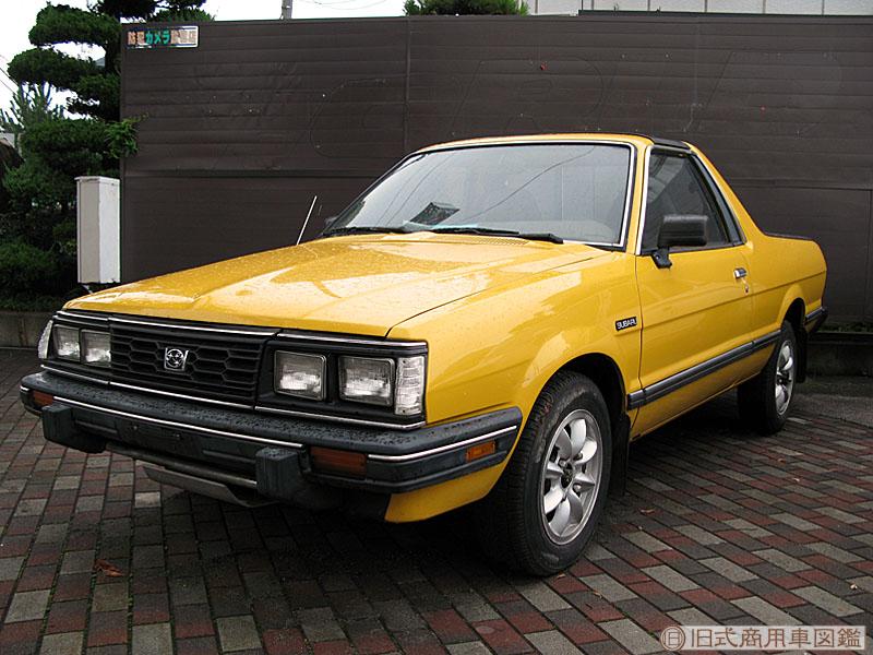Subaru Brat, pick-up, stary japoński samochód, nostalgic, retro, oldschool, スバル, クラシックカー