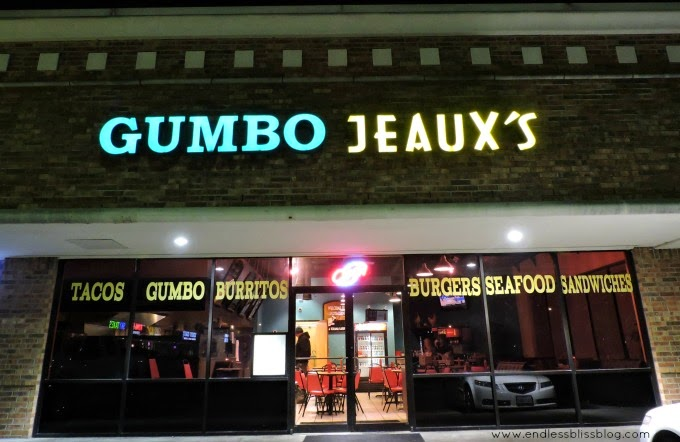 gumbo jeaux's in houston, texas near interncontinental bush airport