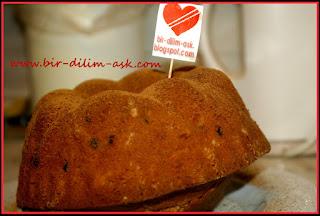 Portakallı Tarçınlı Kek tarifi-bir dilim aşk
