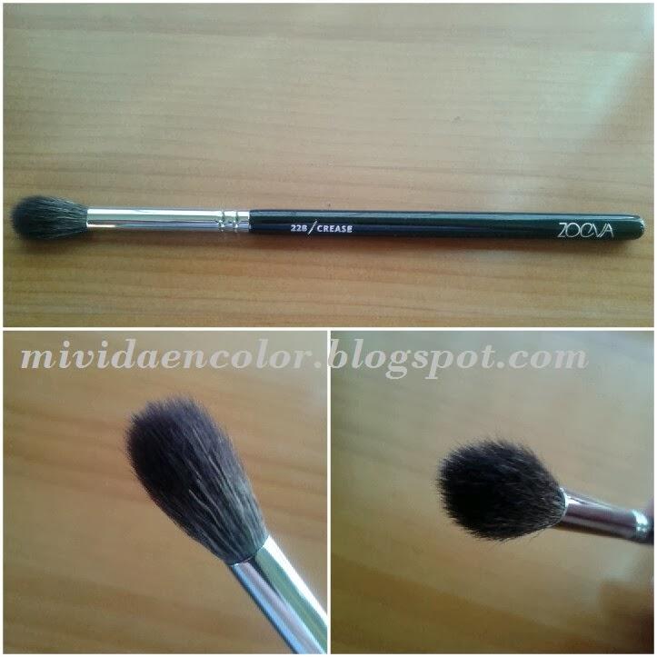 haul-compras-maquillalia-brochas-maquillaje-zoeva-zoeva brush-104-buffer-228-crease-pincel-difuminar