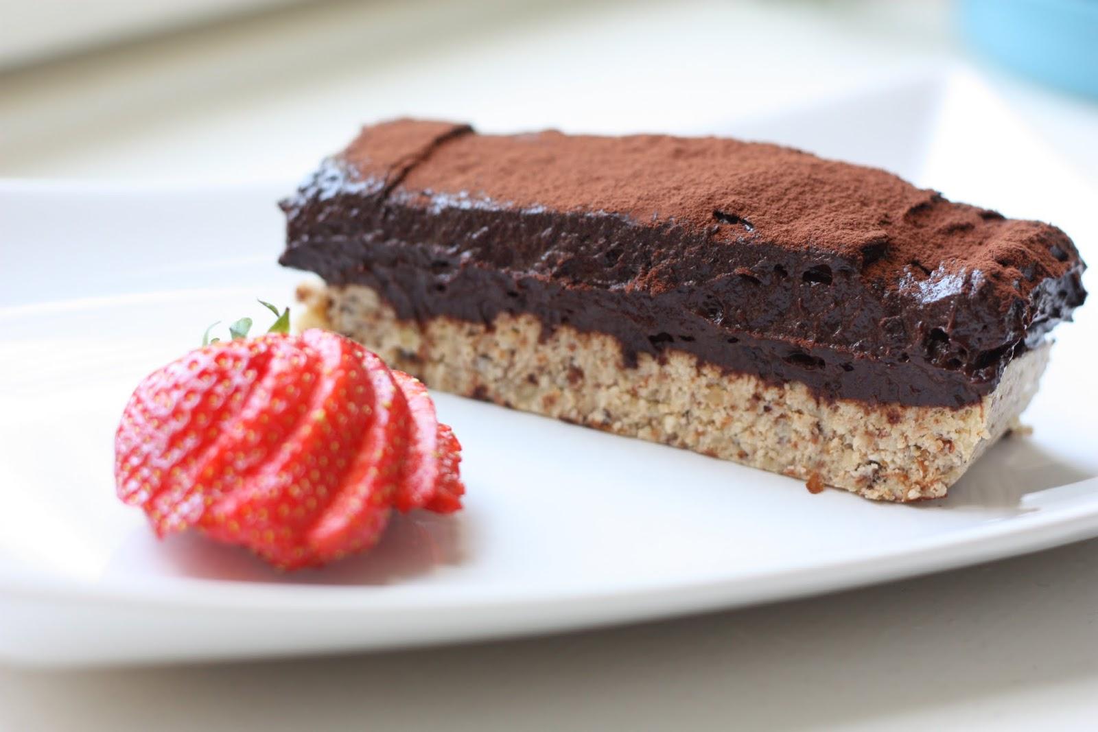 les petits plats de rose tarte crue la mousse au chocolat vegan. Black Bedroom Furniture Sets. Home Design Ideas