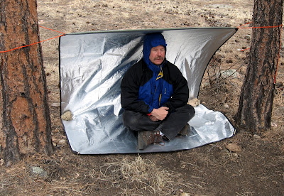 "Made in the USA"" Gear Review: The Original Space All-Weather Blanket"