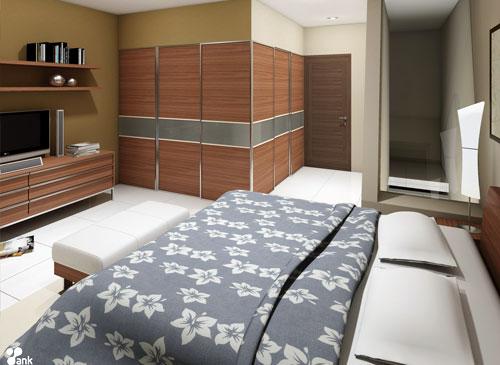 Desain Interior Kamar Tidur Sederhana 2014