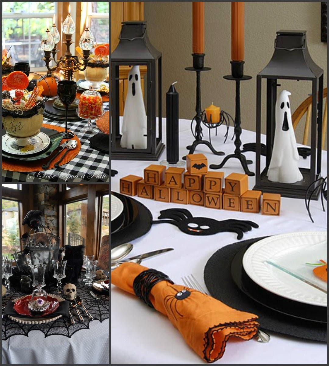 Matrimonio Tema Halloween : Party a tema tavola di halloween la casa dello stile