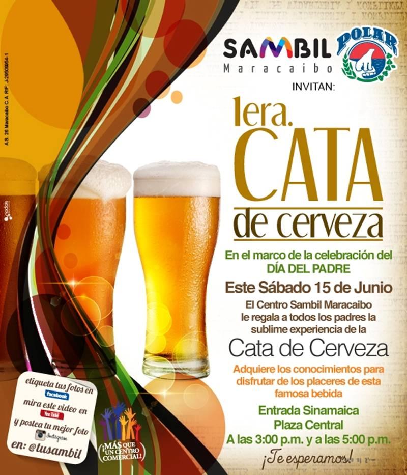 Sambil Maracaibo invita a una sublime Cata de Cerveza Polar ~ Info Pack