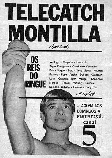 Ted Boy Marino, lenda do wrestling brasileiro