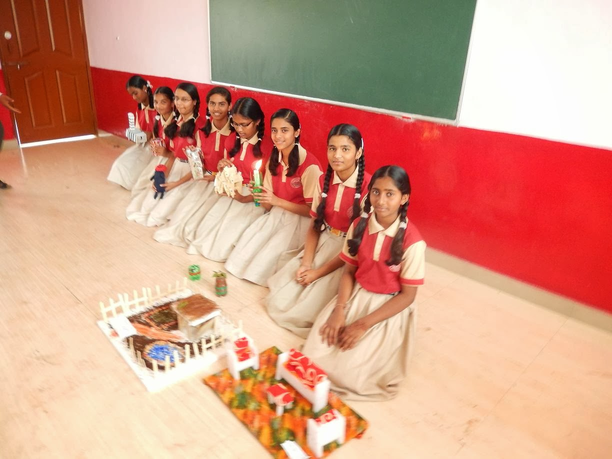 Saint francis of assisi icse school chikodi best out for Best out of waste for class 1