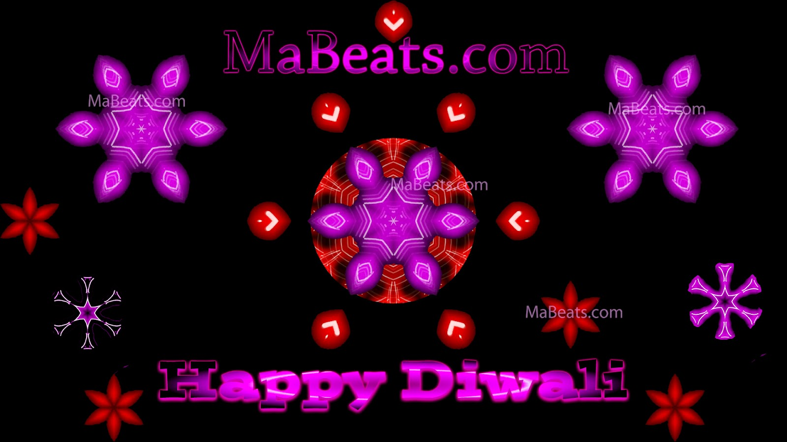 Happy Diwali - Sparkling wishes