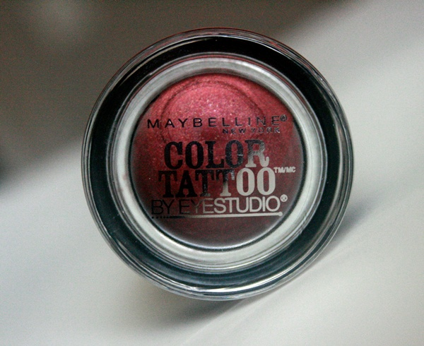 Maybelline Color Tattoo Cream Eye Shadow in Pomegranate Punk