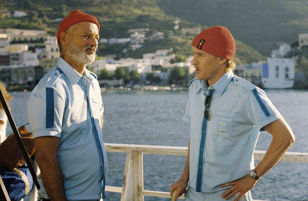 the life aquatic with steve zissou bill murray owen wilson