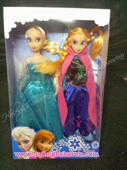 FROZEN: ELSA AND ANNA DOLLS