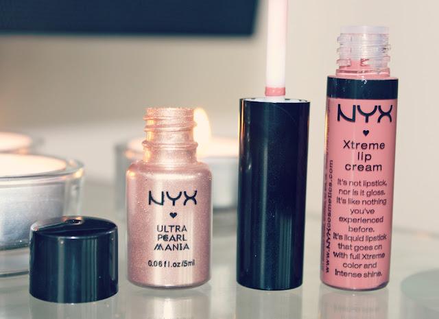 NYX Cosmetics, NYX Xtreme Lip Cream, NYX Loose Pearl Powder, UK Beauty Blog, NYX Guest Blogger