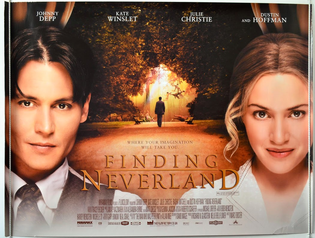 Finding Neverland: world top best movie ever in the cinema history