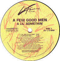 A Few Good Men – A Lil\' Somethin\'  (VLS) (1994)
