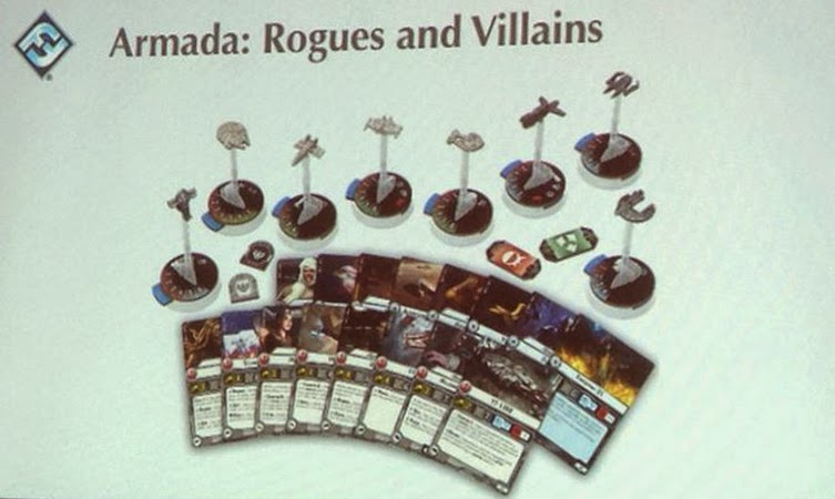 Star Wars Armada Rogues and Villians