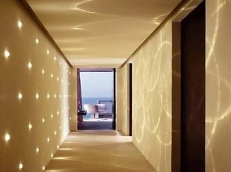 El in genio de las l mparas c mo iluminar el pasillo for Que color para un pasillo largo y oscuro