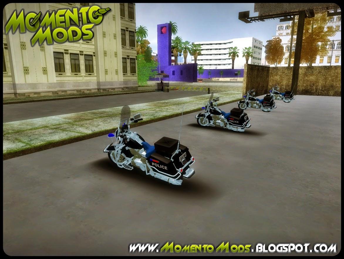 GTA SA - Novos Veículos Na Delegacia De Polícia De Los Santos
