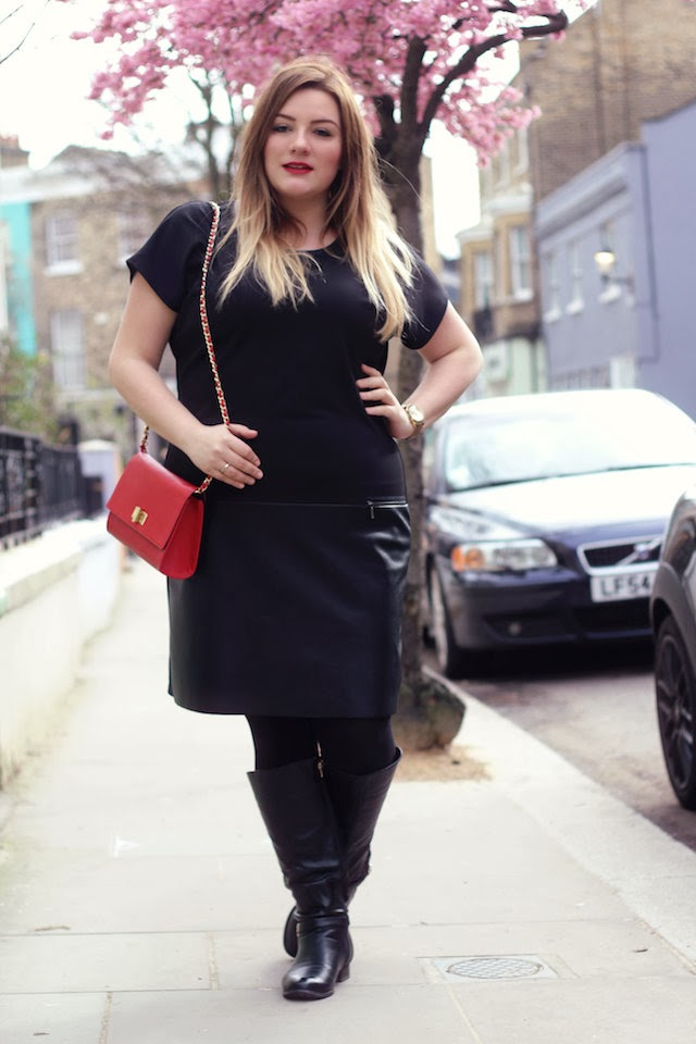 Plus Size Outfit by S.Oliver & a cherry tree