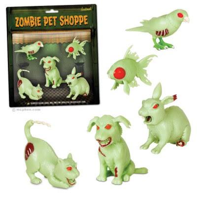 Zombie party pets