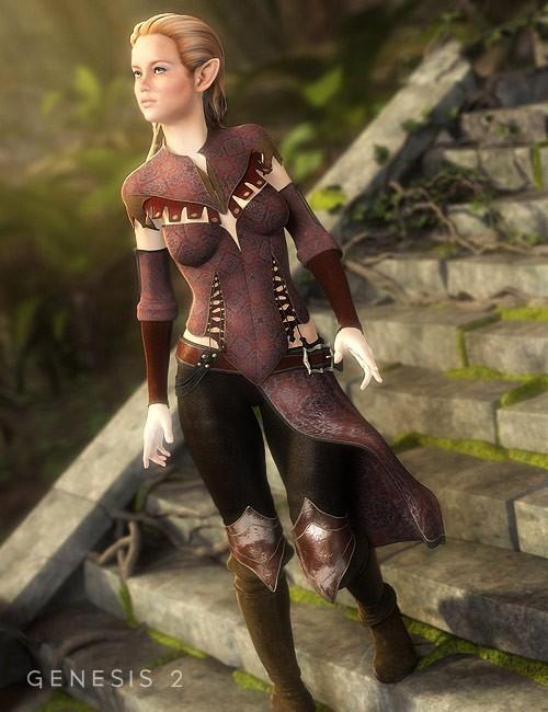 Darkwoods Heroine Textures