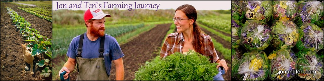 Jon and Teri's Farming Journey Blog