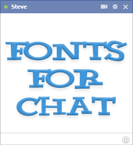 how to change facebook font style on android