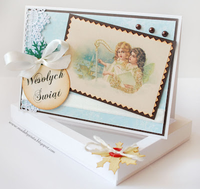 scrapbooking kartka boże narodzenie card making