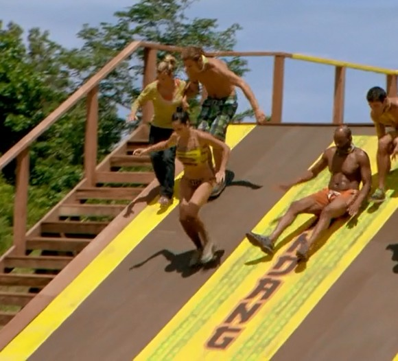Roberta RC Saint Amour in the immunity challenge episode five