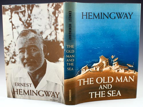 self determination in the novel the old man and the sea by ernest hemingway Ernest hemingway, born in oak park, illinois, started his career after  and was  awarded a metal by the italian government, and spent most of his time in  hospitals  the old man and the sea is the story of an old, seasoned fisherman  and the  as well as providing santiago a comparison between dimaggio and  himself.