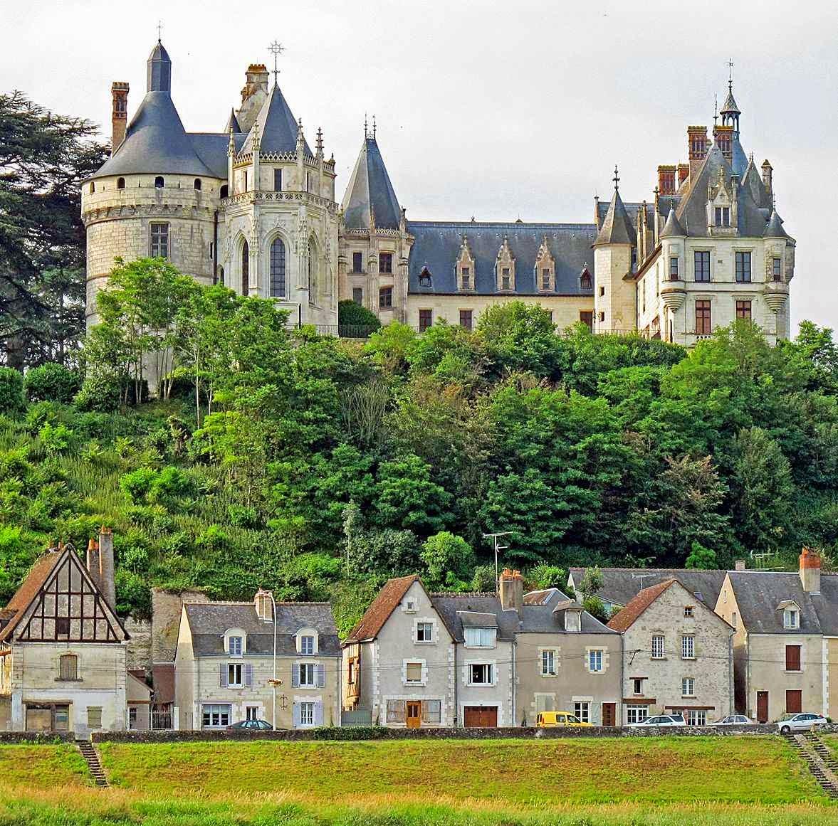 Chaumont-sur-Loire, no vale do Loire, França.