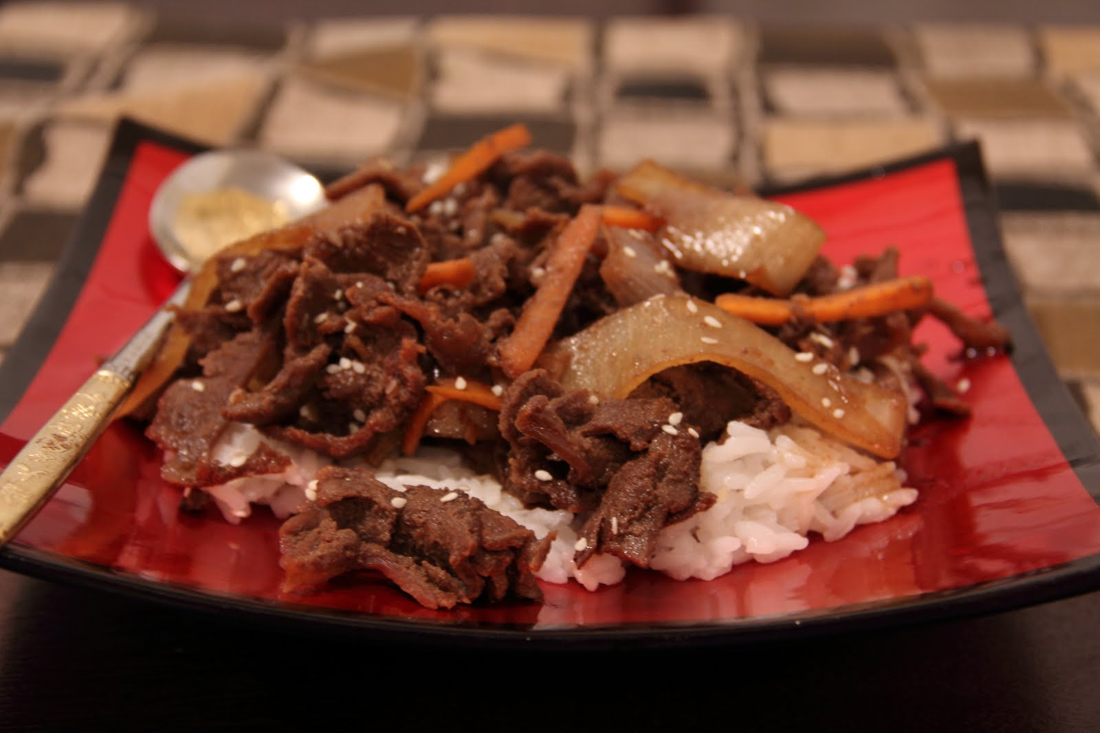 Korean Bulgogi - Recipe