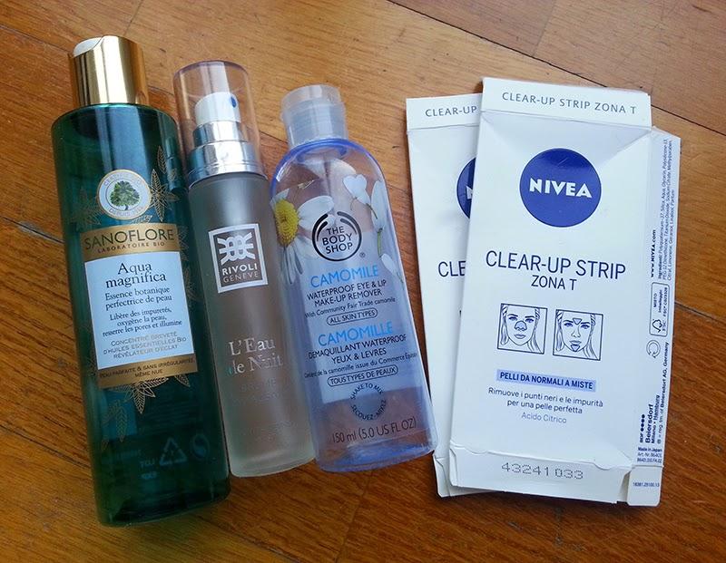 prodotti finiti 2015, empties, skincare