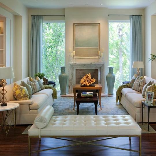 Decore sua mente seu corpo e seu espa o pequenas salas for Serene living room ideas