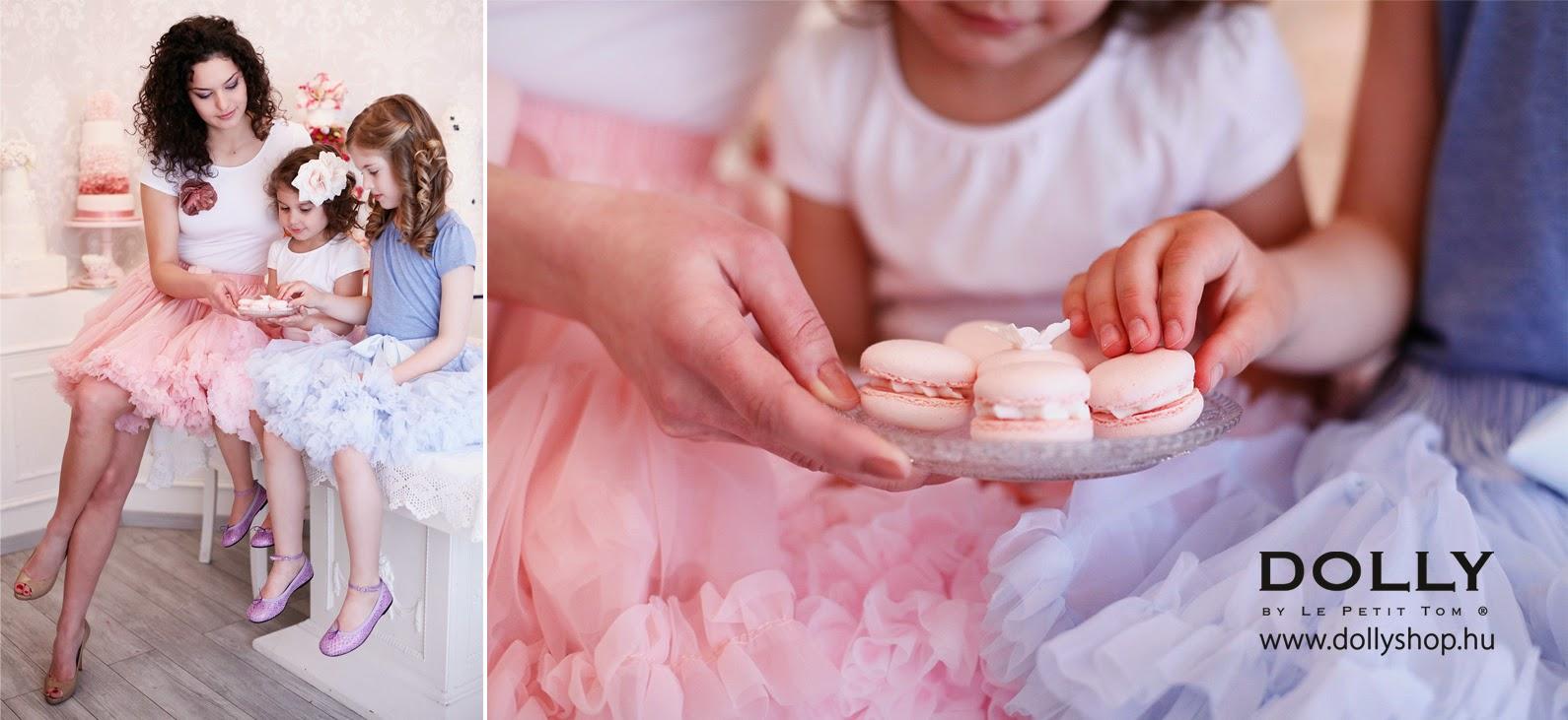 Női és gyerek pettiskirt fotózás - Preston Torta-manufaktúra