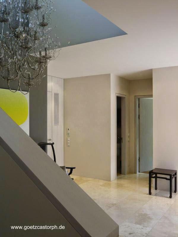 Sector en el interior de la moderna residencia de Múnich