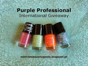 Purple Professional International Giveaway