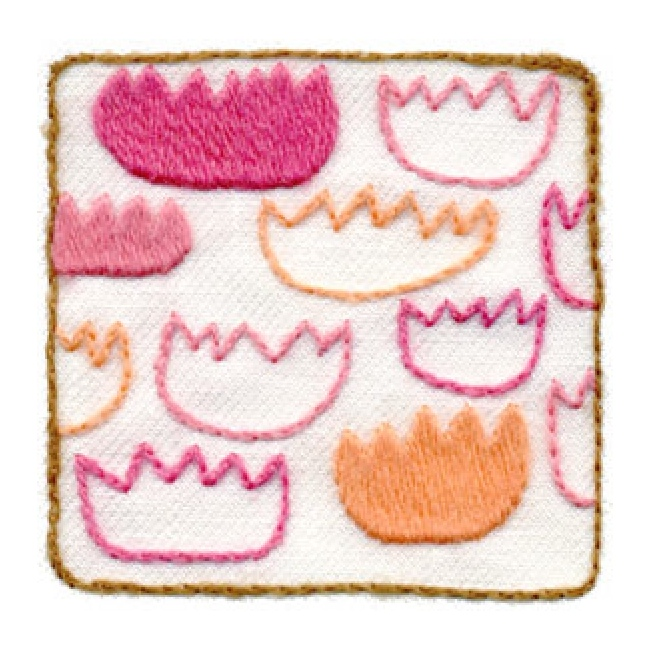 Weekend kits crewel embroidery card easy for