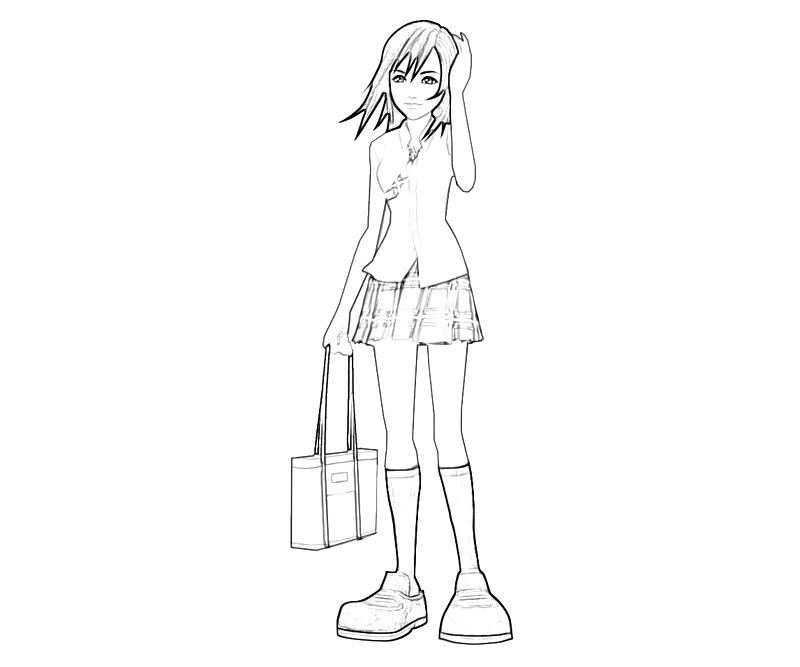 printable-kairi-character-coloring-pages