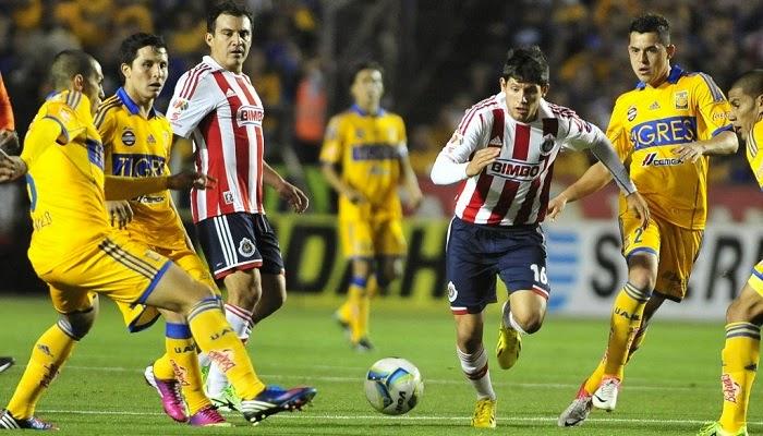 Tigres vs Chivas de Guadalajara en vivo