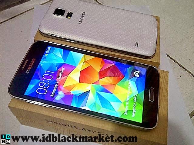 Samsung S5 supercopy hitam putih