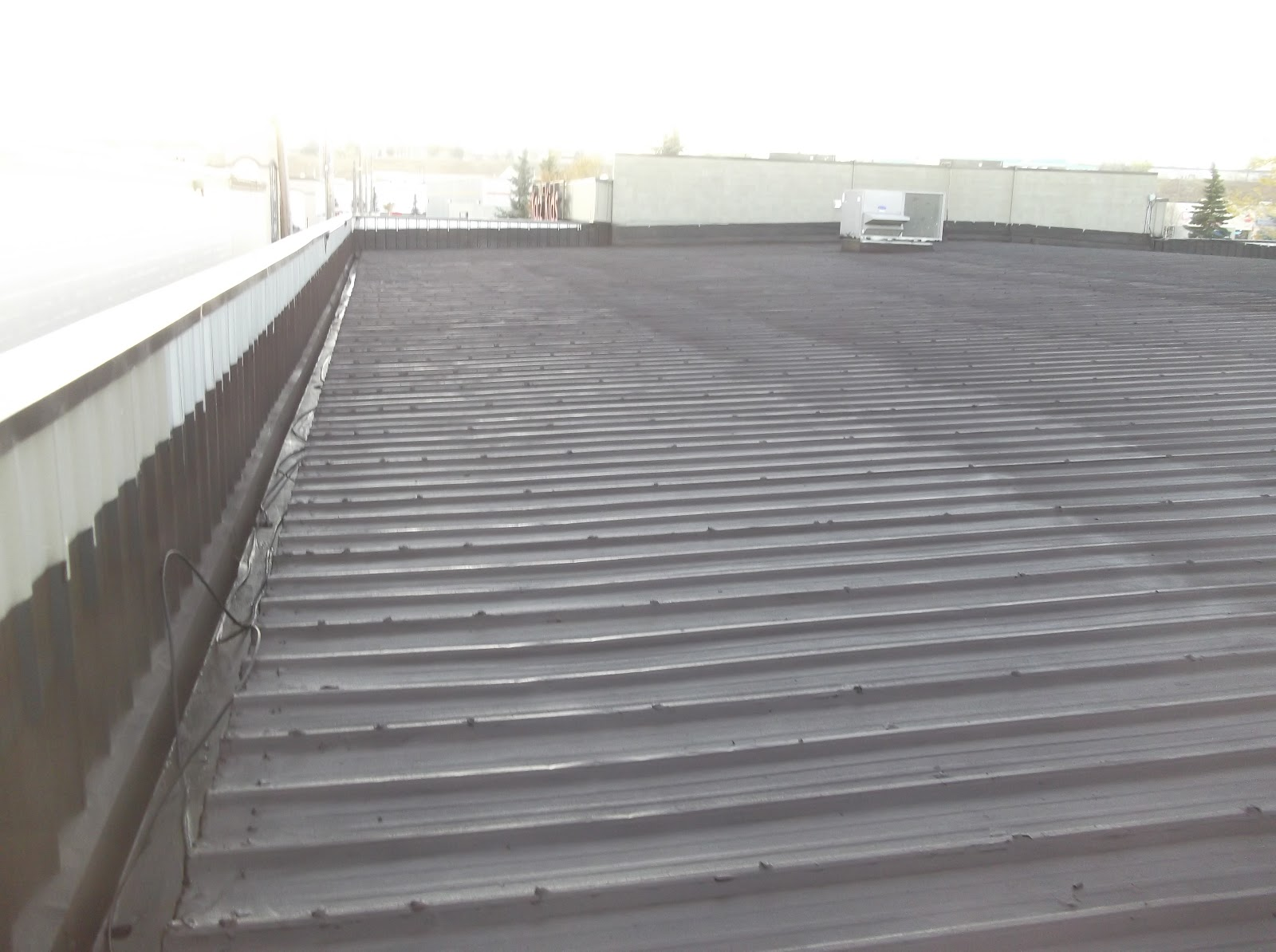 Metal roof low slope metal roof cost for Cost of building a roof