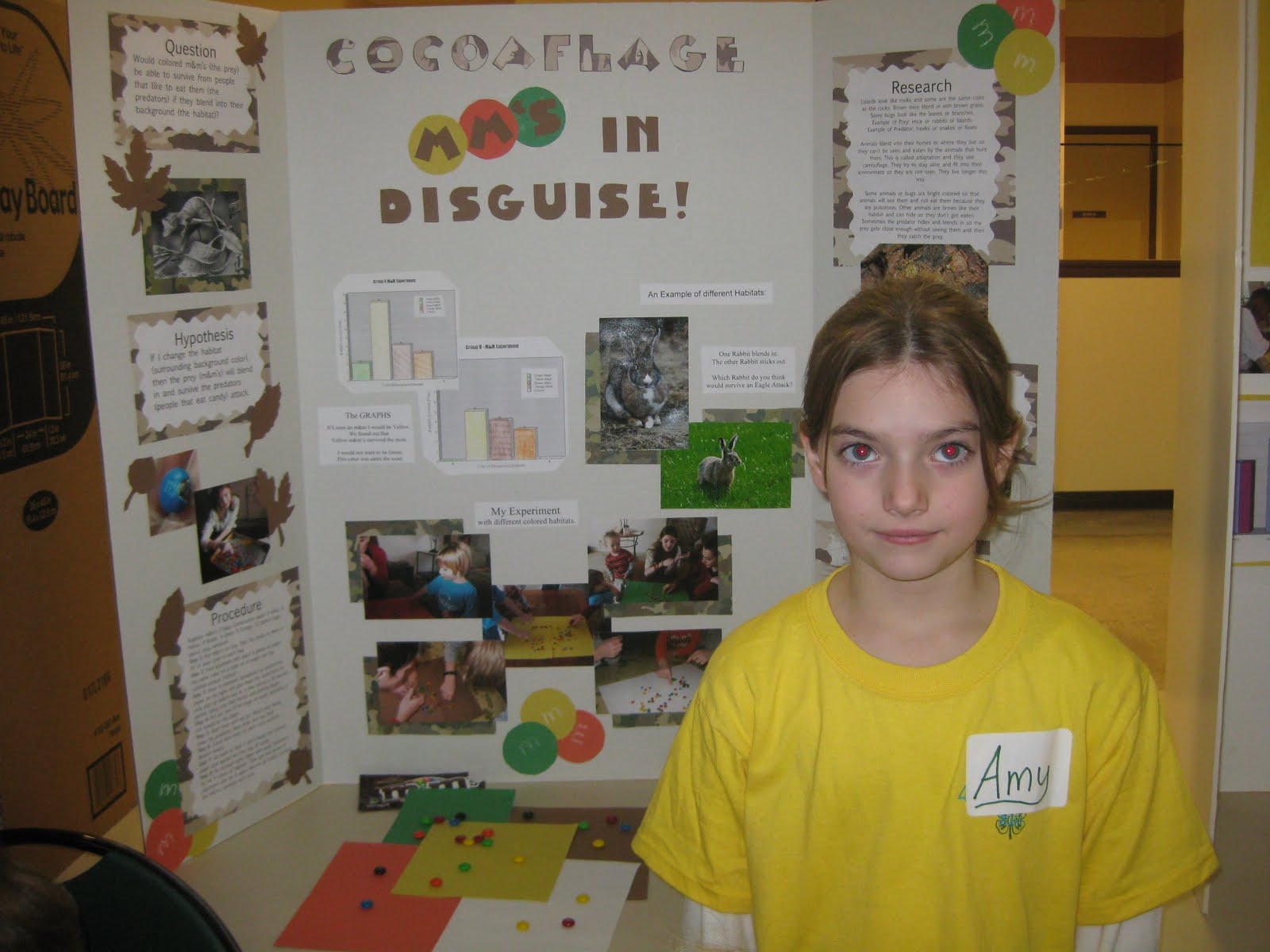 animal science fair projects