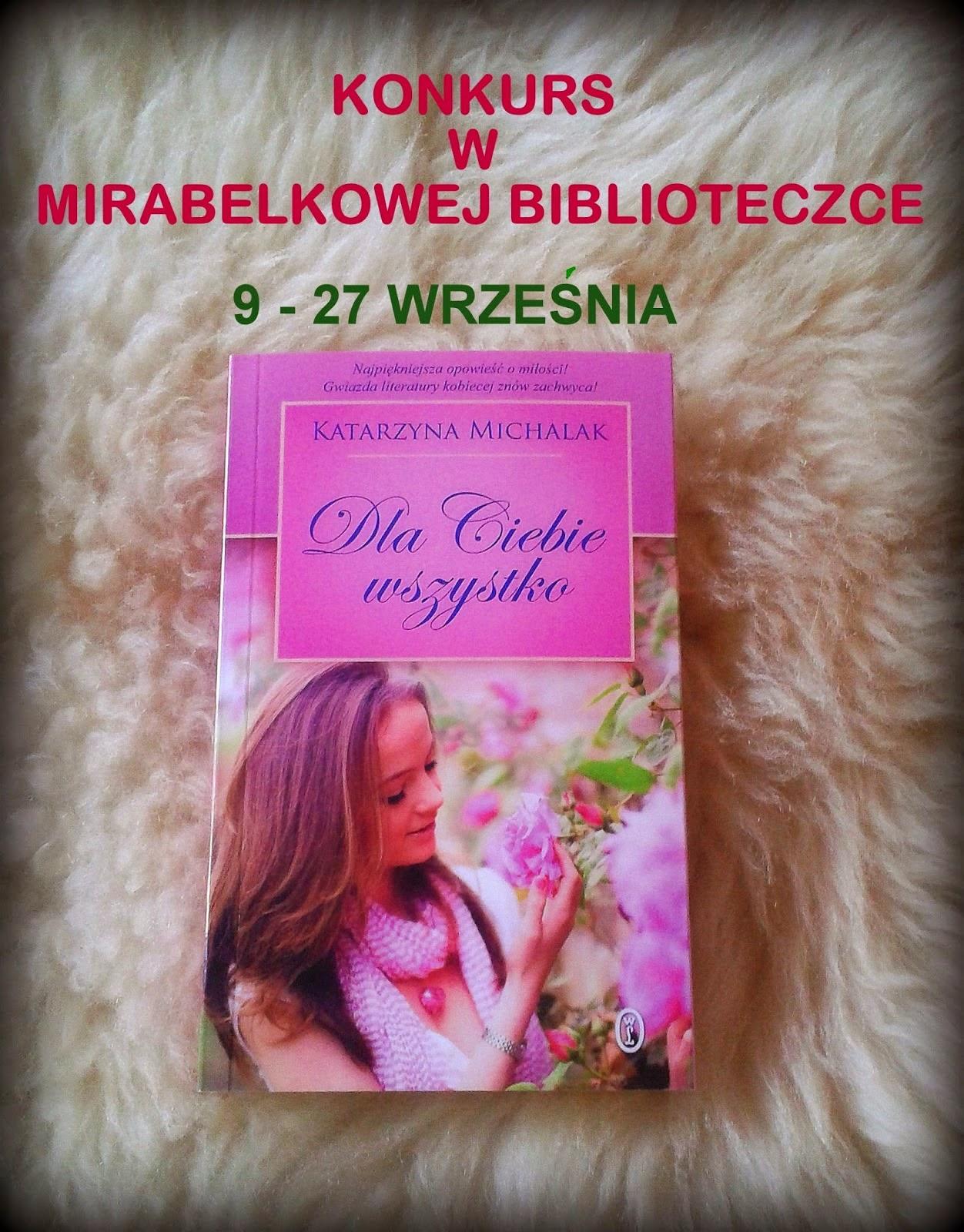 Konkurs w Mirabelkowej Biblioteczce